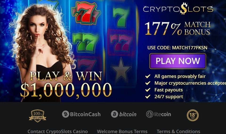 Bitcoin Cryptocurrency Banking Options| Crypto Slots Casino Reviews