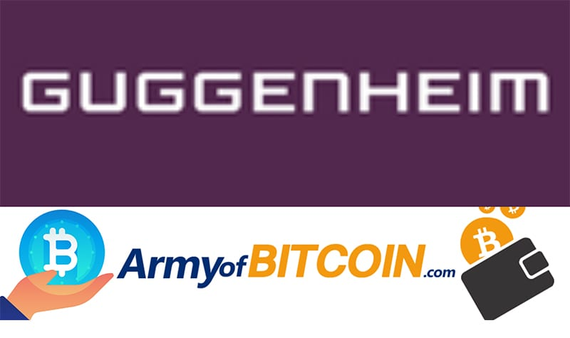 Which Financial Bank Is Investing Up To $500 Million In Bitcoin GUGGENHEIM